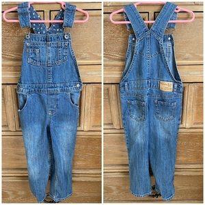 Oshkosh Genuine Kids Blue Jean Overalls